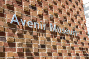 photo of the Avenir sign