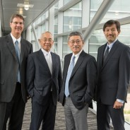 Hickenlooper joins CSU, CU officials at cancer treatment center in Japan