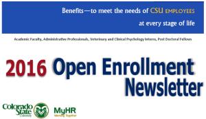 Open Enrollment Newsletter