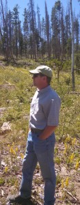 Ron Cousineau, district forester