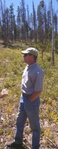 Ron Cousineau, district forester