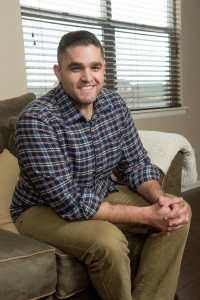 Social work student and U.S. Marine veteran Joel Peters says the New Start program helped him immensely.