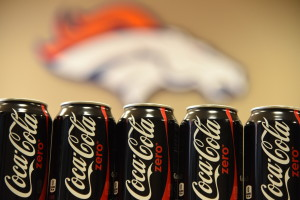 photo of Coke cans