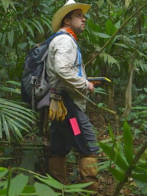 Chris Fisher will spend a week in December and most of January excavating the site in the Honduran jungle.