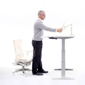 Tips on ergonomics and sit/stand workstations