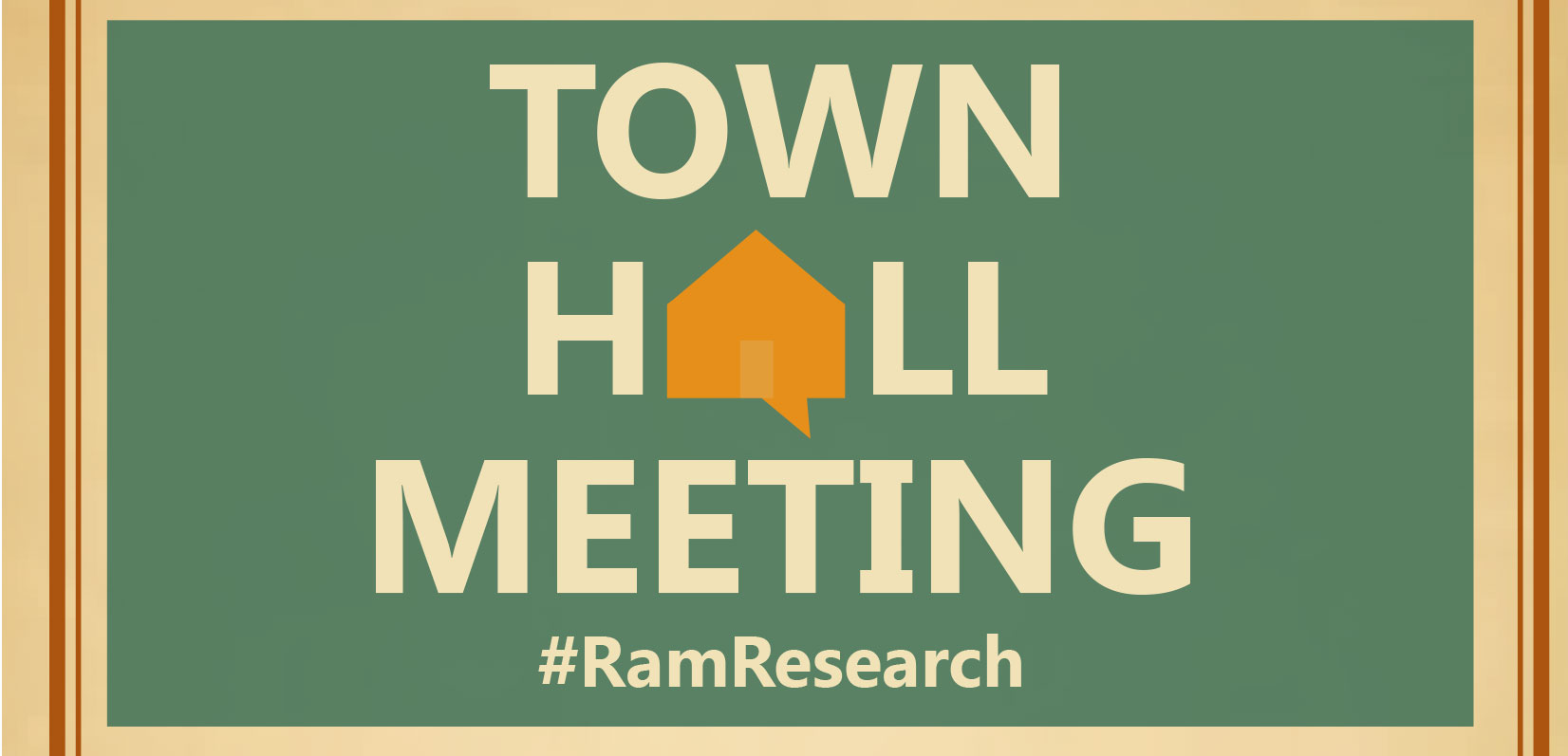 Vp For Research Invites Questions At Town Hall Meeting Source
