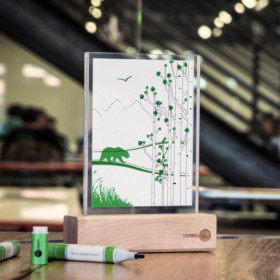 World's first time-lapse ink now available from Born@CSU company Living Ink