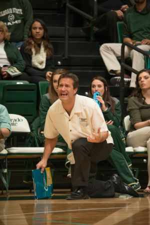 Senior night Volleyball vs. Wyoming in Moby Arena. CSU won the match 3-1, and claimed the Mountain West Conference Championship trophy after the game. November 26, 2014