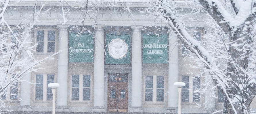 University guidelines for weather closures