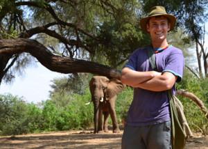 CSU's John Trimarco in Kenya