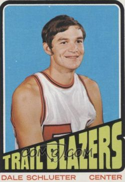 Dale Schlueter, an original member of the Portland Trail Blazers, made the first basket at Moby
