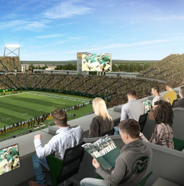 Stadium Best Seats In The House Going Fast Source Colorado State University