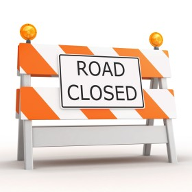 Prospect Road closed Feb 13, lane impacts through July