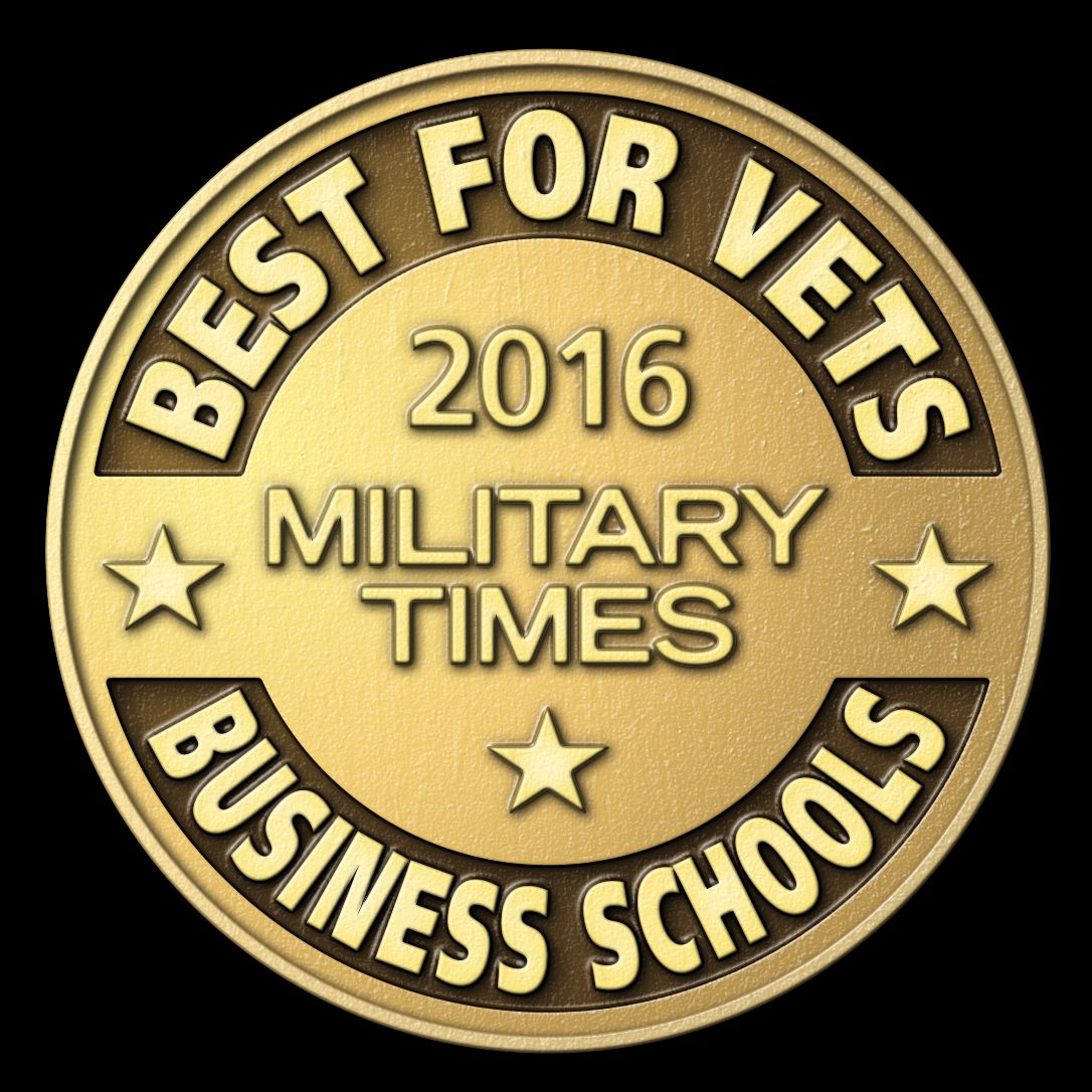 College of Business ranked best for veterans by Military