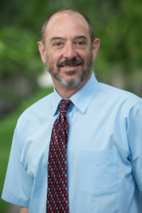 Rick Miranda, Colorado State University Provost on The Oval. August 12, 2015