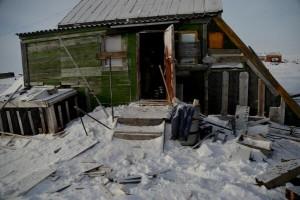 Wrangel island hut photo by Joel Berger