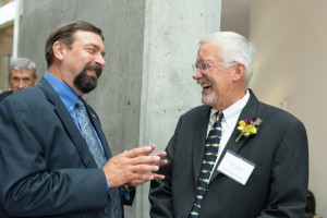 CSU President Tony Frank and Dr. Stephen Withrow