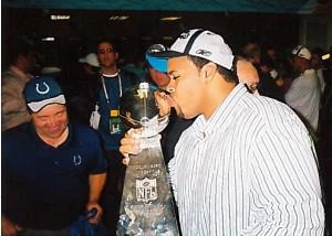Al Bimper Superbowl Trophy