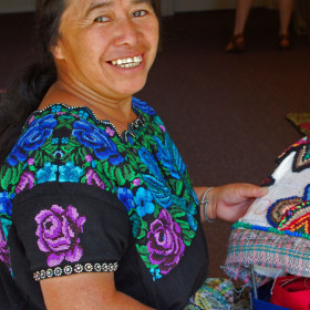 Maya Women's Rug Hooking Cooperative to hold workshop, lecture