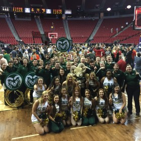 Best in the West: CSU Pep Band and Spirit Squad