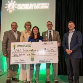 SiVEC Biotechnologies wins $20,000 in CSU Collegiate Challenge