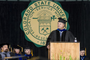 CSU awarded Smith an honorary doctorate in 2008.