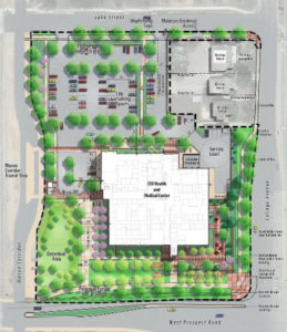 Click the image above for a fact sheet about the new CSU Health and Medical Center.