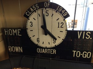 The old CSU scoreboard