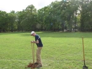 Stephen Ogle soil sample