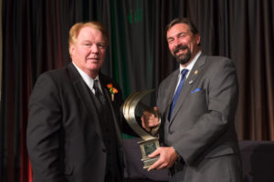 Wilson received the Charles A. Lory Public Service Award at the 2015 Distinguished Alumni Awards banquet sponsored by the Colorado State University Alumni Association in October 2015.