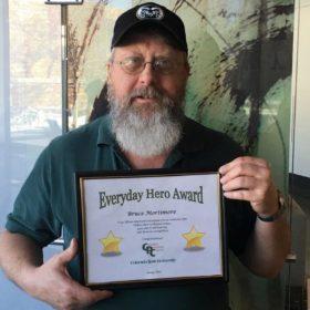 Bruce Mortimore named Everyday Hero