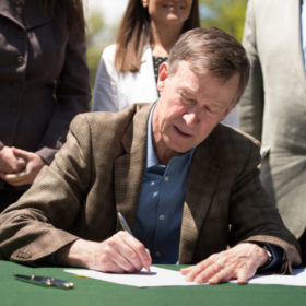 Governor signs water bill at CSU