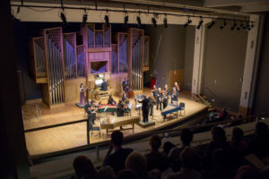 Ken-Cowan-organ-with-Lisa-Shihoten-violin-and-the-Fort-Collins-Symphony-conducted-by-Wes-Kenney