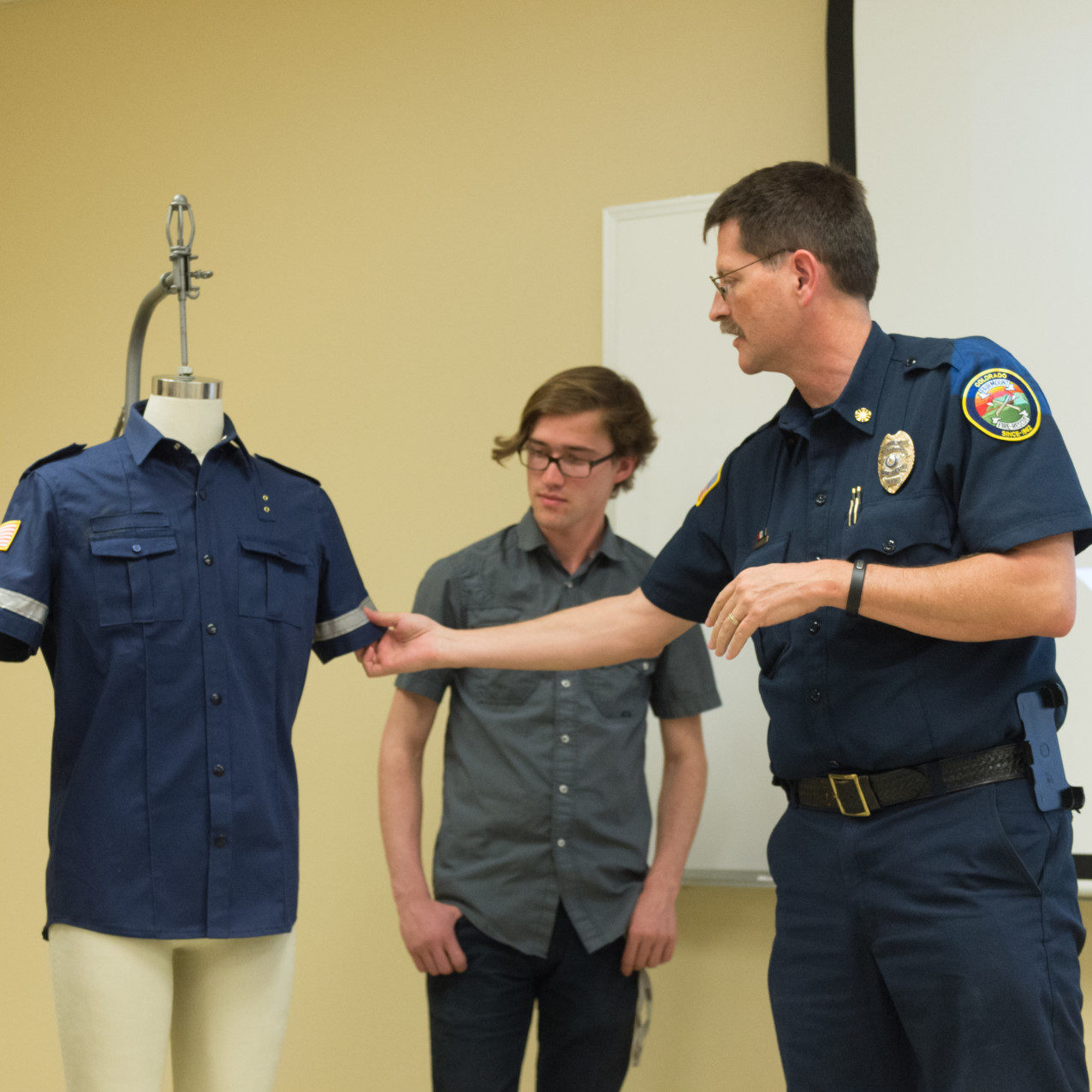 Csu Students Redesign Firefighter Uniforms To Look Less Cop