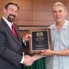 Work with library in Ethiopia recognized with Ram Pride Service Award