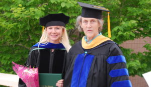 PhD Graduation 2 - Chelsey and Temple