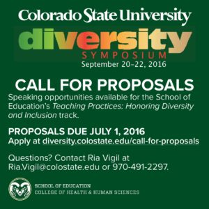 flyer for call for proposals