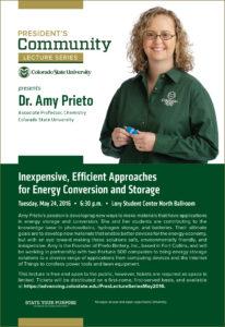 Amy Prieto poster