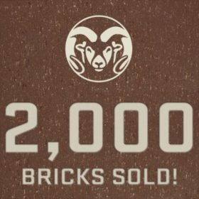 Going fast: More than 2,000 commemorative stadium bricks sold
