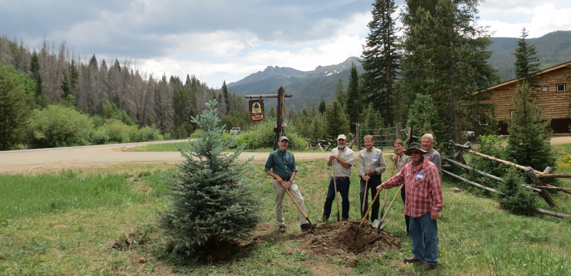 Colorado State Forest building dedication Warner College June 2016