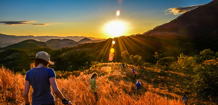 Sunset in La Criba