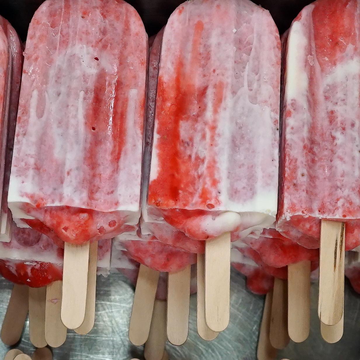popsicles from Artisan Revolution pops