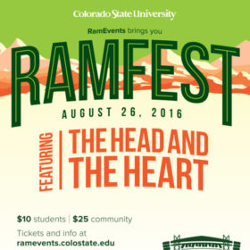 The Head and The Heart headline RamFest Aug. 26