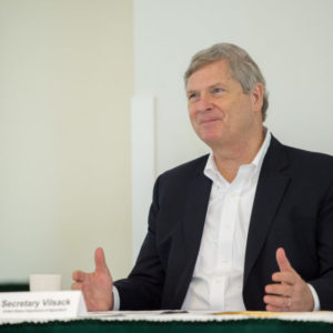 The Colorado Water Institute hosts the Nation's 30th Secretary of Agriculture, Tom Vilsack, May 20, 2016.
