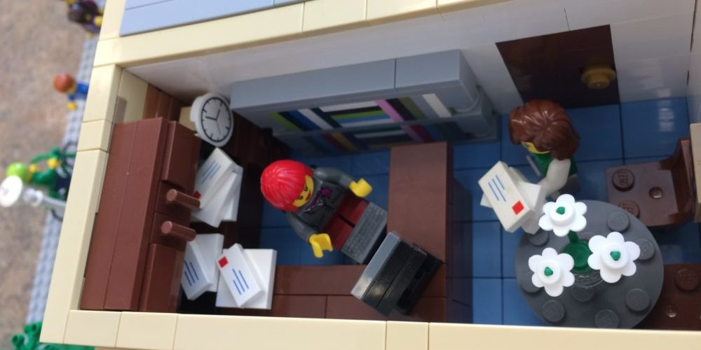 lego head office. The Office Of Louann Reid, Head Department English Lego