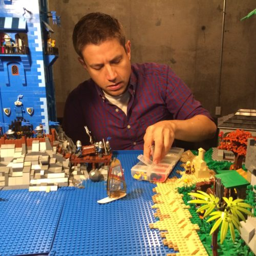 CSU English professor by day, LEGO enthusiast by night