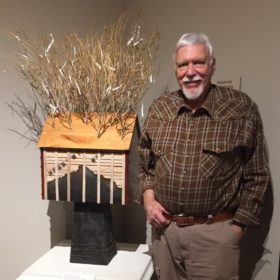 Retired prof's Japanese-American confinement camp art displayed in Wyoming