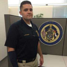 Student-veteran attains lifelong dream of becoming a cop