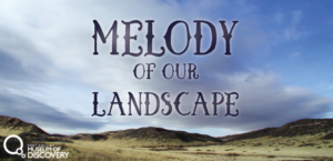 Melody of our Landscape - graphic from film/event