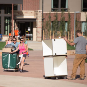 Move-In 2016: Record number of students living on campus